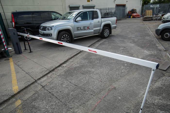 The Lulsgate Car Park Entrance Electric Barriers