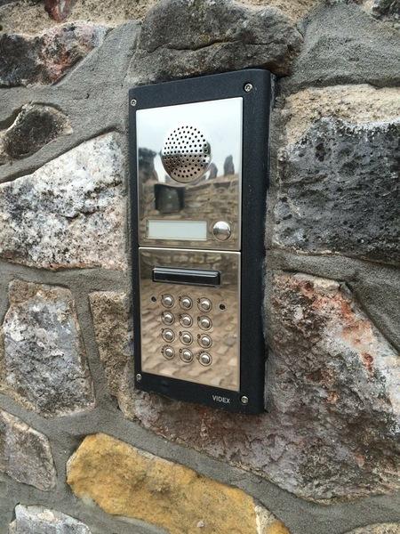 Videx Audio Intercom and Keypad Entry