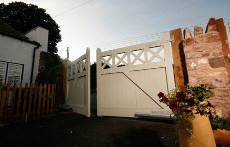 Chew Magna Hardwood Solid Swing Gate Elex Gates