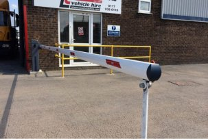 automated vehicle barrier for commercial premises
