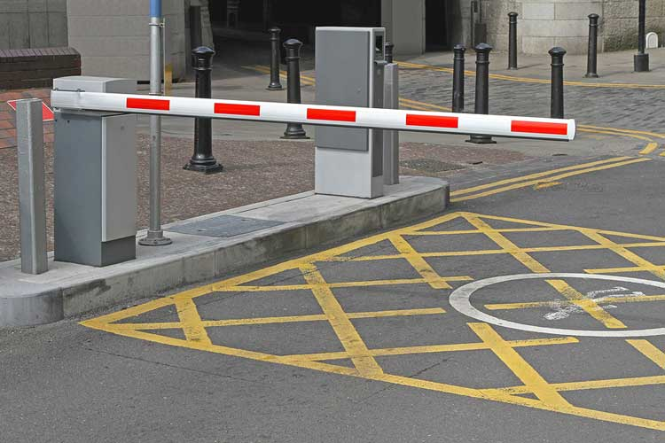 automated traffic barrier systems for efficient car parking
