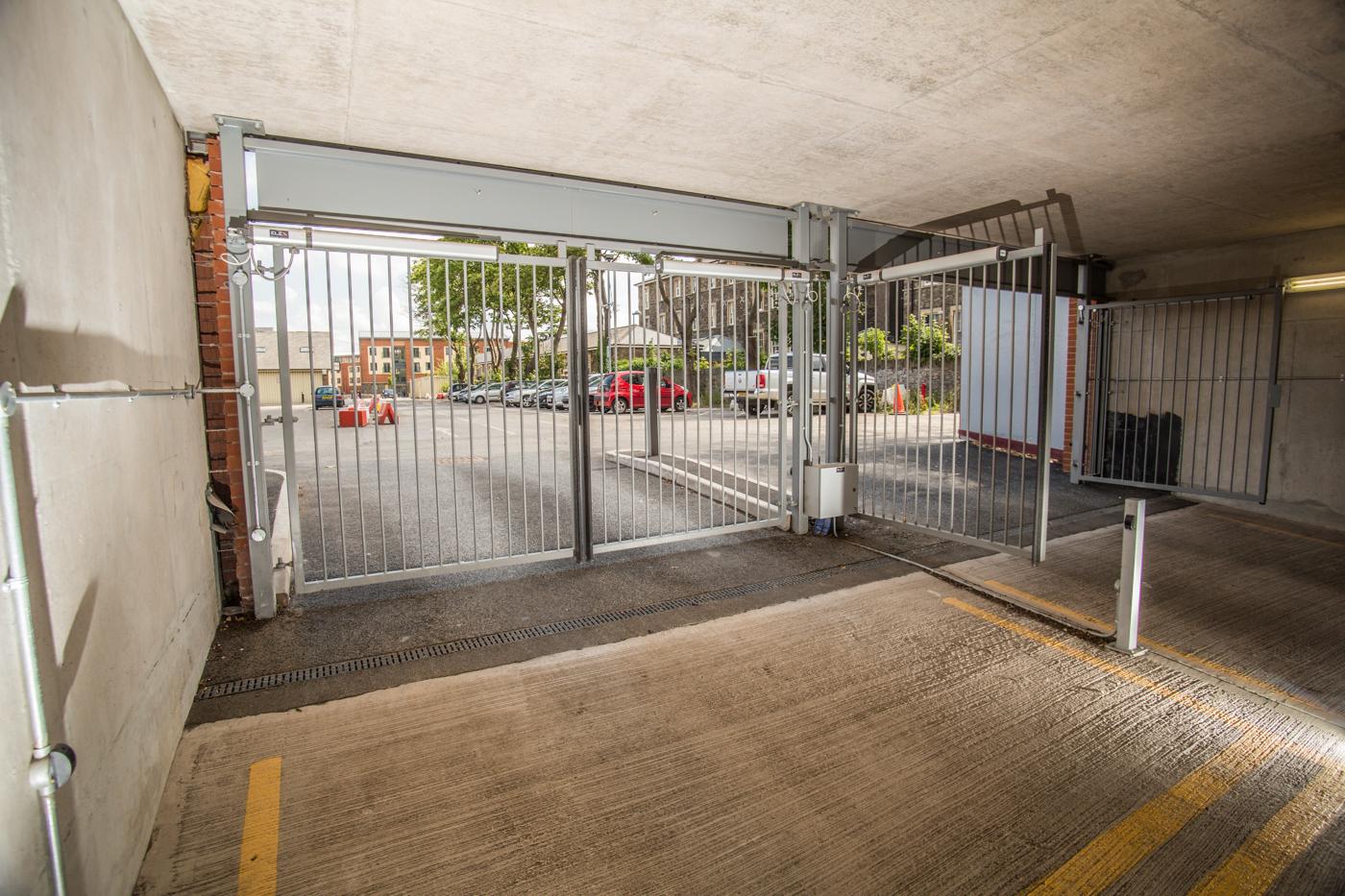 Underground Residential Parking Access Elex Gates
