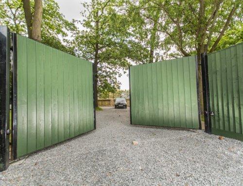 Discrete Residential Gate Installation