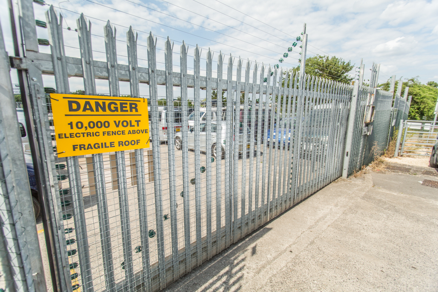 commercial electric gates bristol