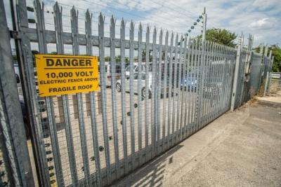 sliding metal driveway gates bristol