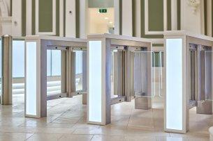 indoor turnstiles, access and crowd control