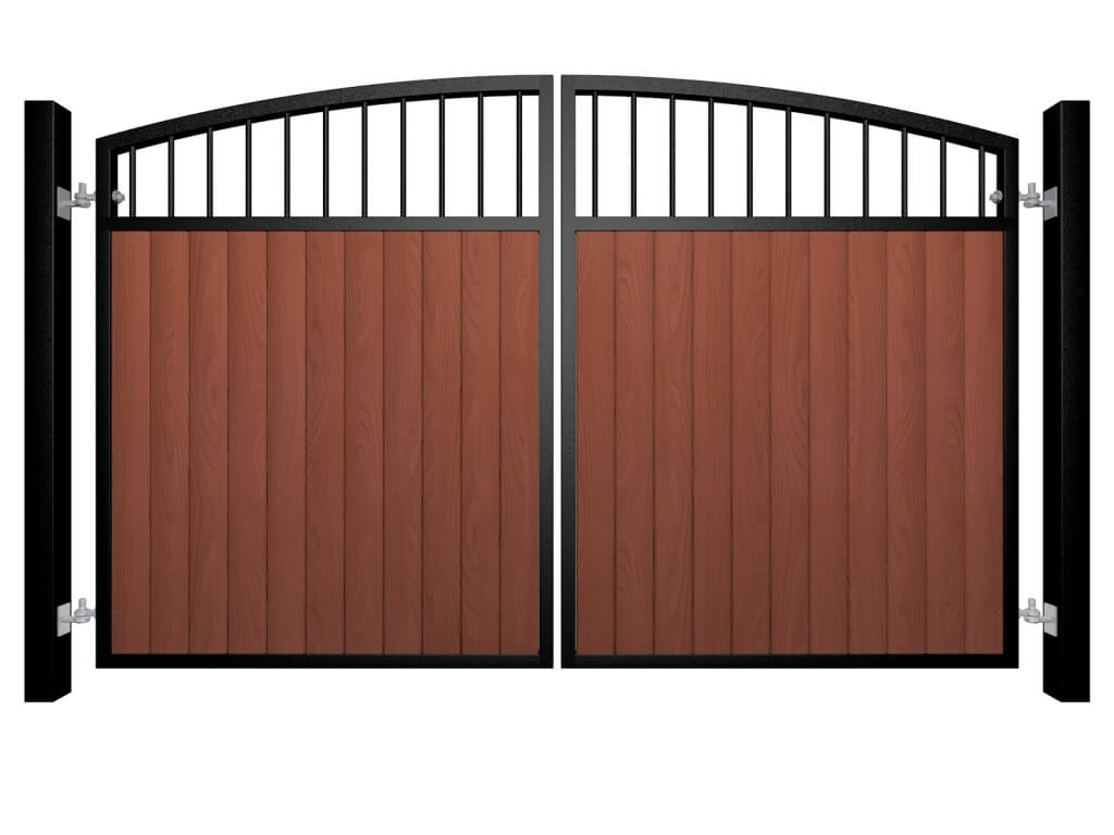 Metal Framed Gates