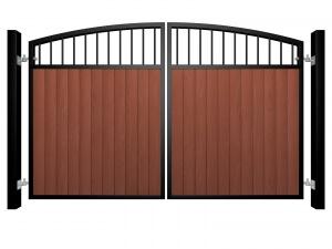 Metal Framed Gates