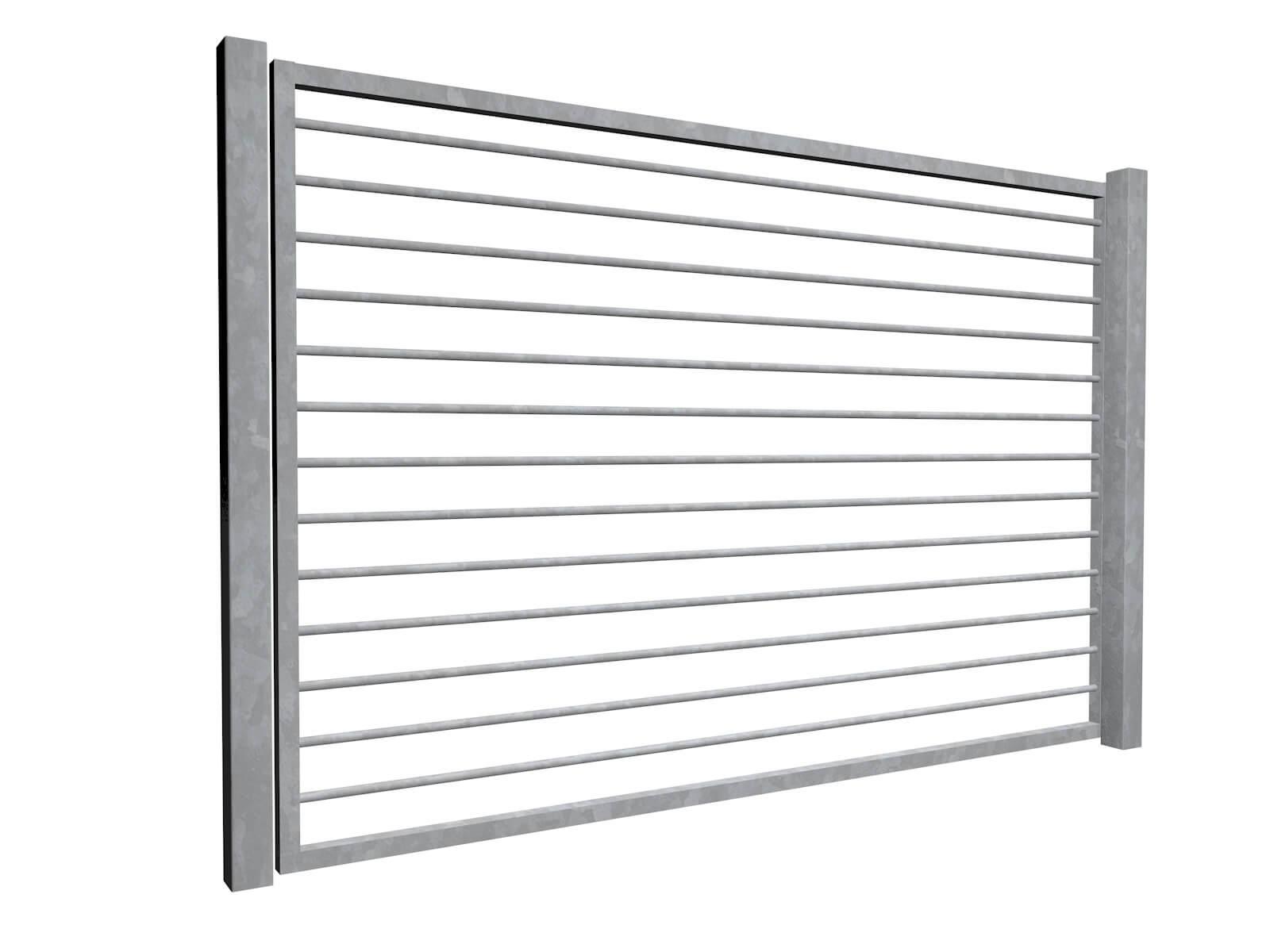 galvanised sliding commercial metal gates Bristol