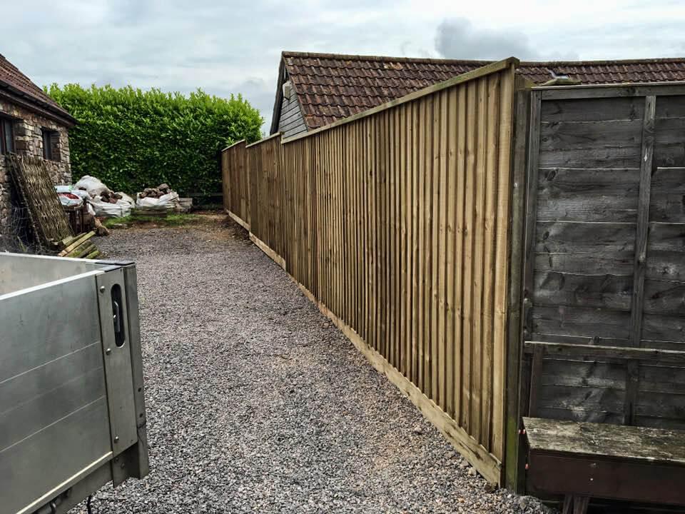 feather edge fencing bristol uk