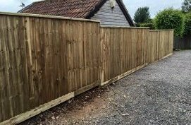 feather edge fencing Bristol