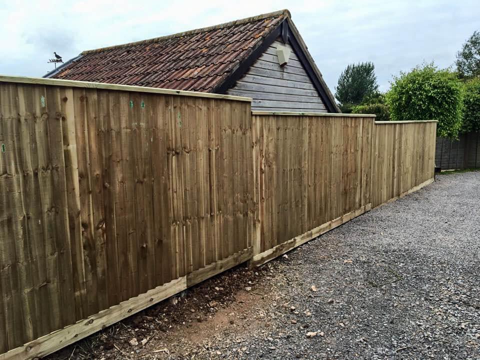 feather edge fencing Bristol