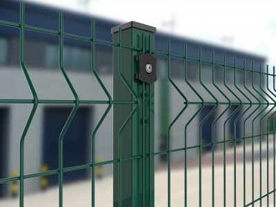 commercial weld-mesh fencing