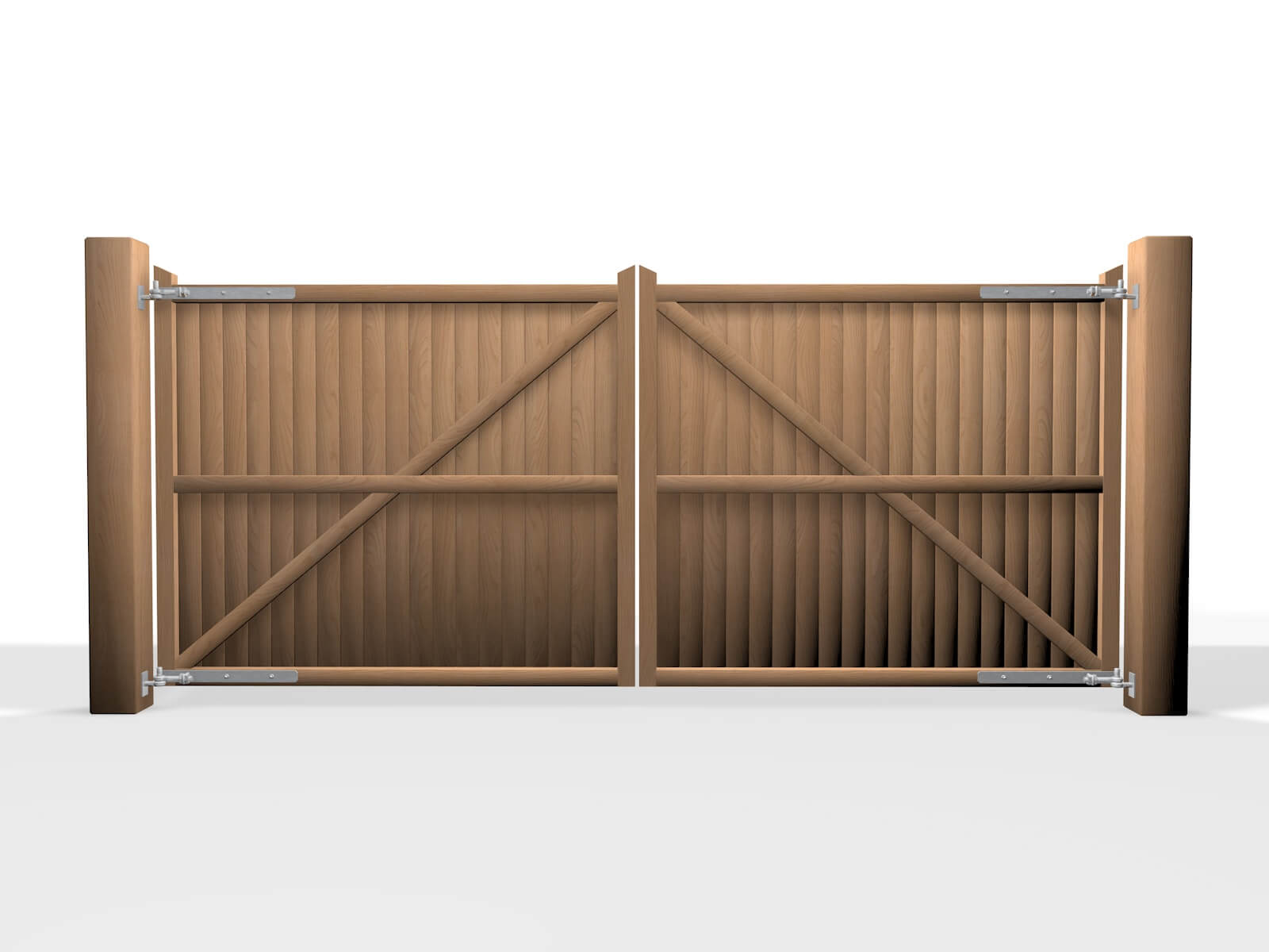Wooden Swinging Flat 2 Elex Gates