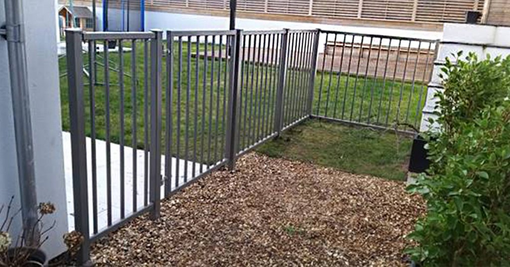 Railing Panels and Manual pedestrian gates